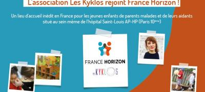 L'ASSOCIATION LES KYKLOS REJOINT FRANCE HORIZON